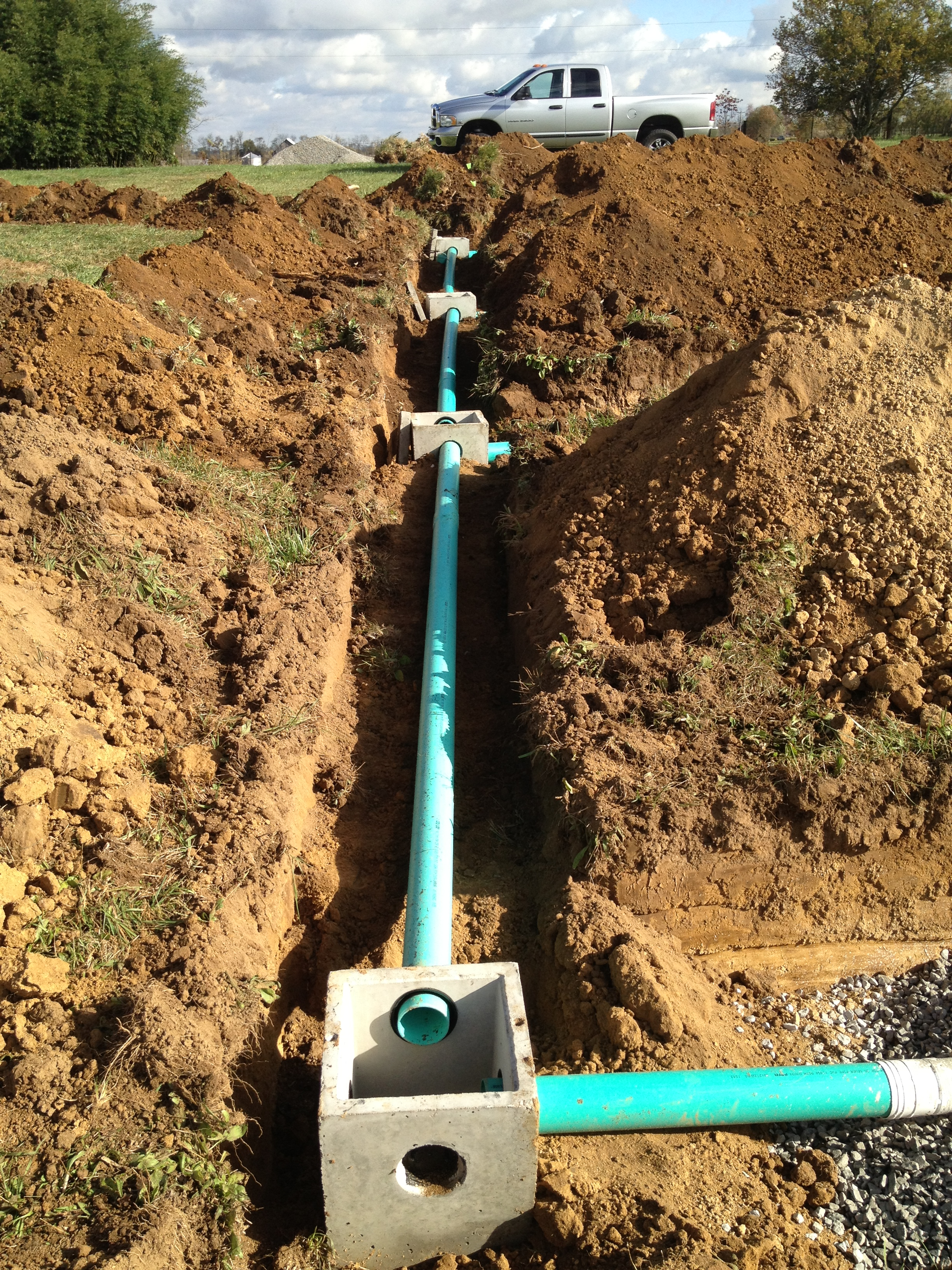 New Septic System Installation Hartman Septic And